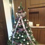 クリスマスツリーとバースデイ